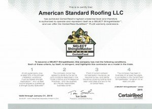 Shingle Master Michigan Roofing