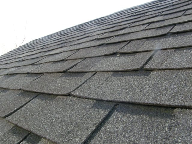 cupped shingles